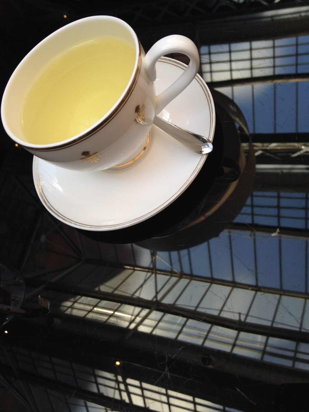 Afternoon Tea in London, St Pancras