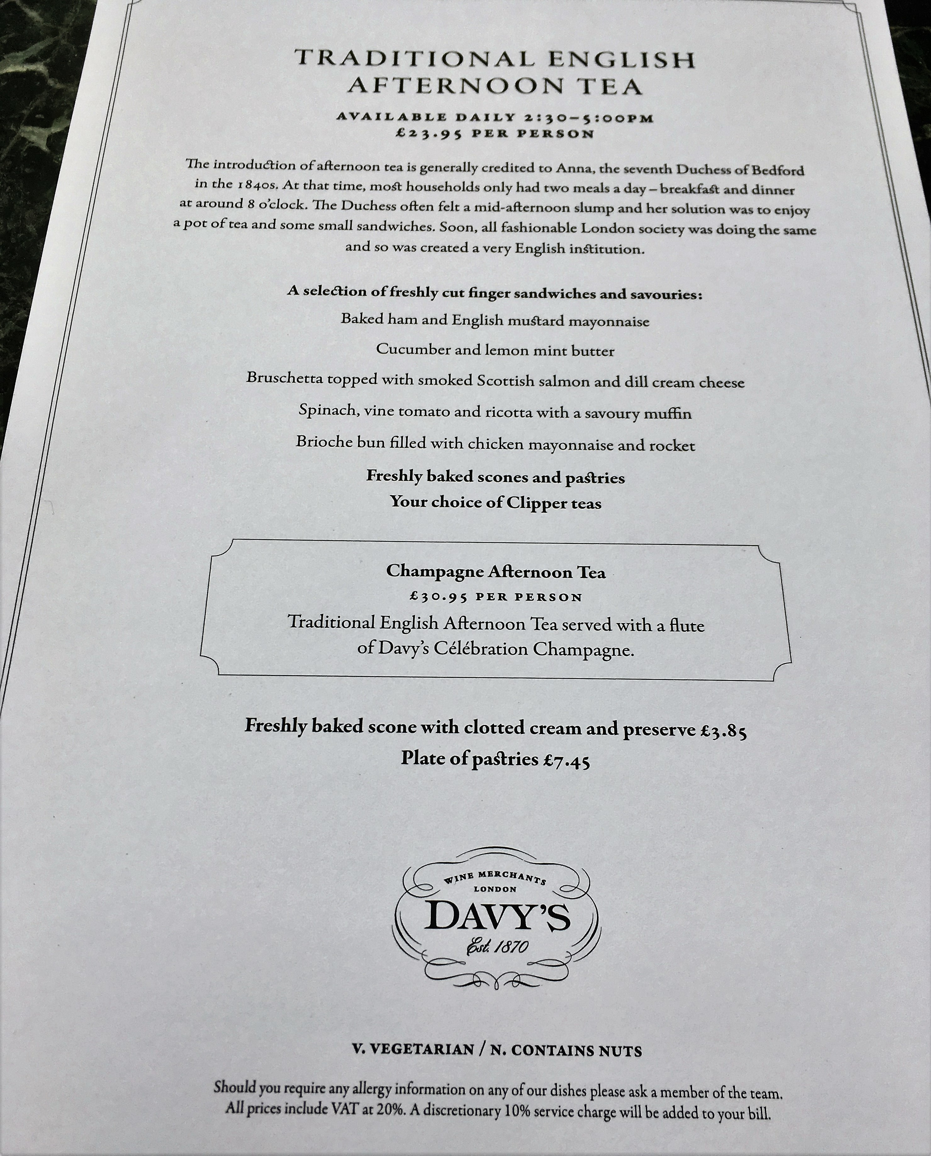 CrustingPipe_AfternoonTea_Menu_London_TeaVoyages