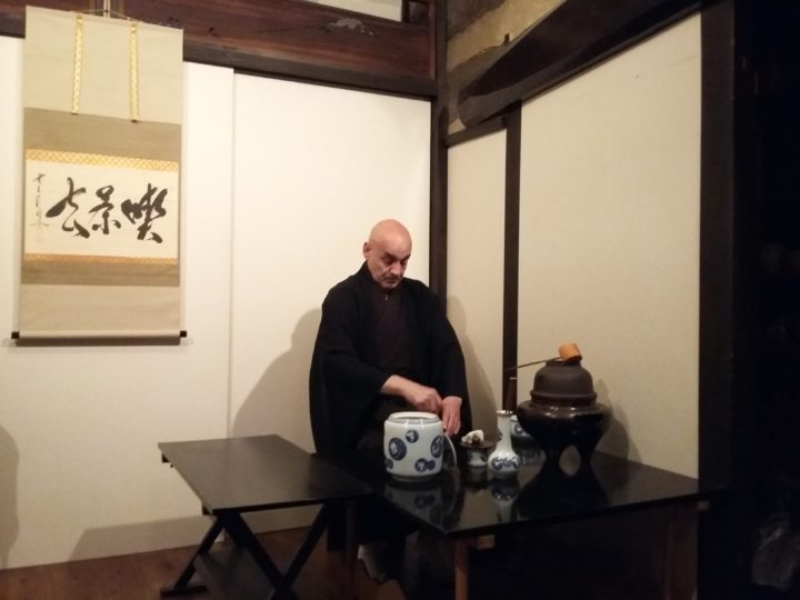 Kyoto | Initiation au chanoyu au ran Hotei