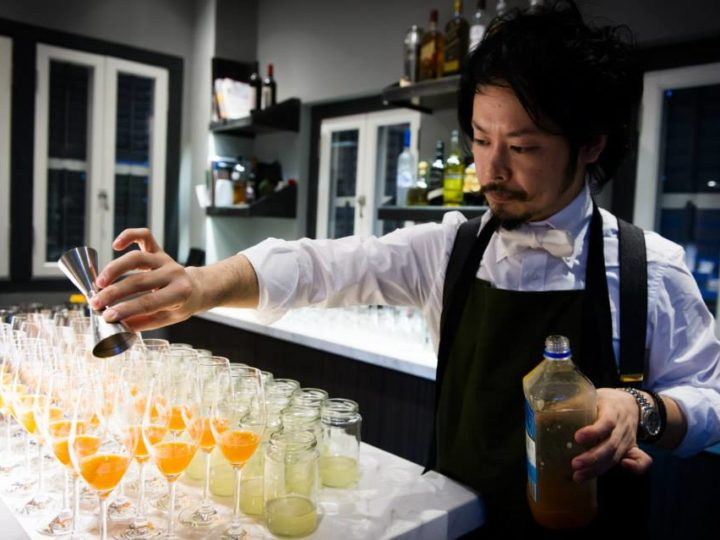 Shuzo Nagumo, Tea Mixologist