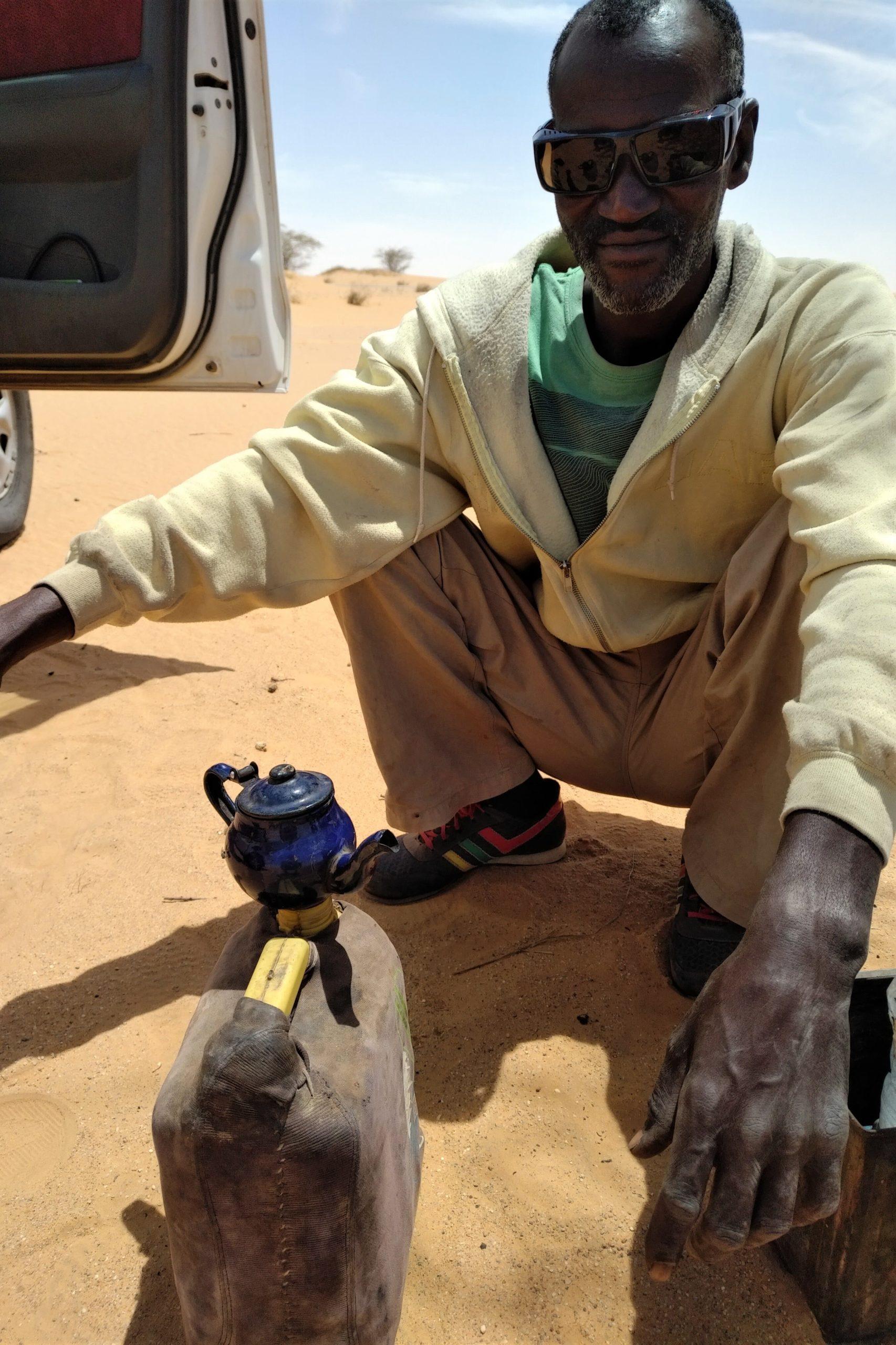 The_au_Sahara_Mauritanie_Réchaud