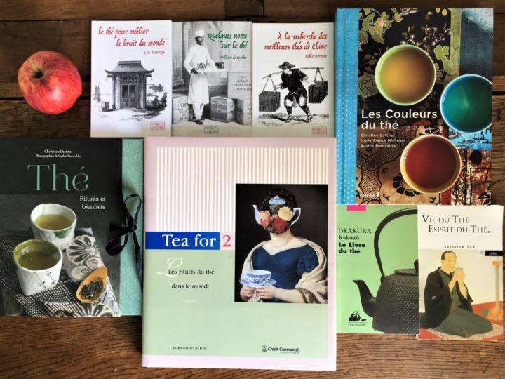 Notre sélection de livres et de thés | Avril 2021